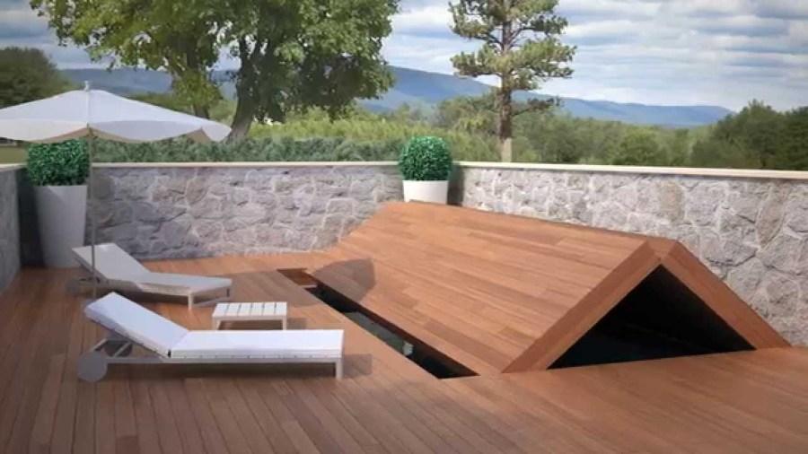 Presupuesto construcci n cubierta pisable para piscina for Como hacer un cubre piscinas