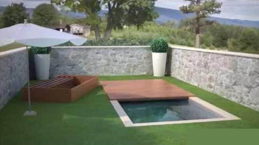 Presupuesto construcci n cubierta pisable para piscina Como hacer un cubre piscinas