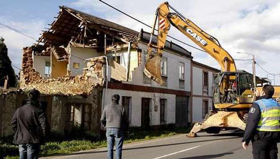 Derribar y demoler una vivienda