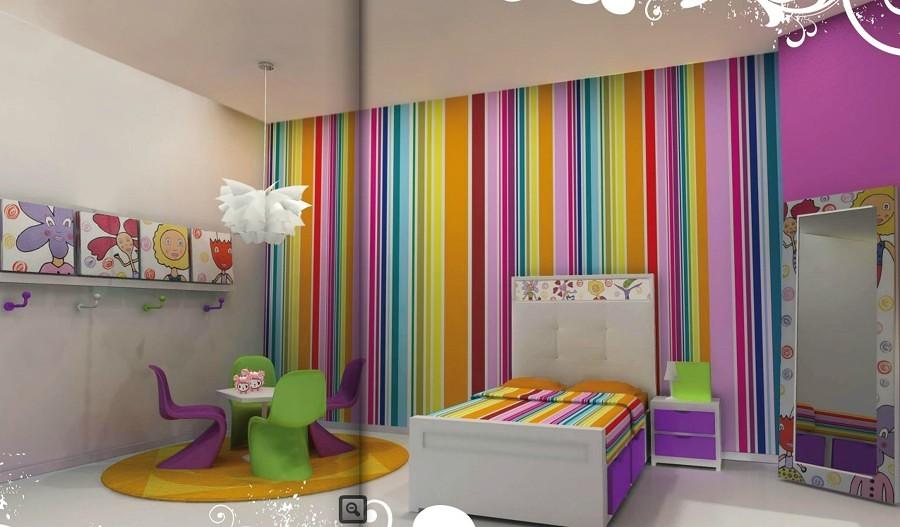 Empapelar sobre gotele perfect cmo alisar las paredes y - Papel pintado sobre gotele ...