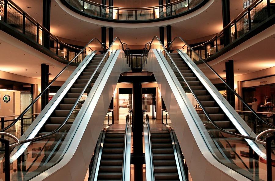 Locales en centros comerciales