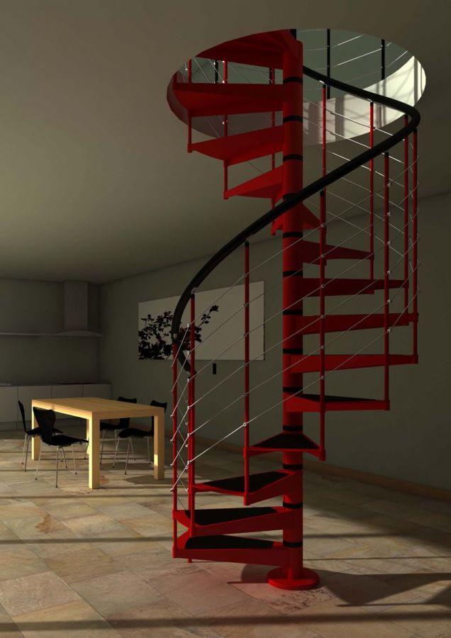 Presupuesto escalera metalica online habitissimo - Modelos de escaleras de interiores de casas ...