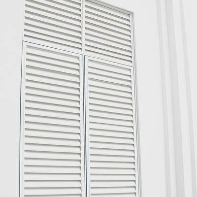 Puertas mallorquinas de PVC