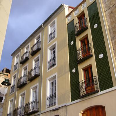 C mo pintar una fachada exterior presupuestos habitissimo - Presupuesto pintar casa ...