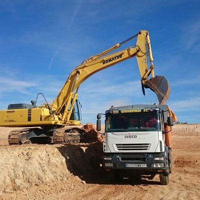 Excavación de terraplenado