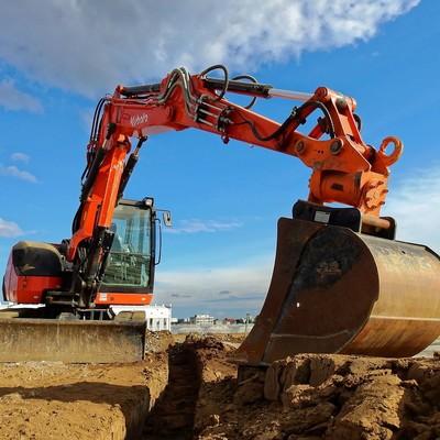 Excavaciones para movimientos de tierra