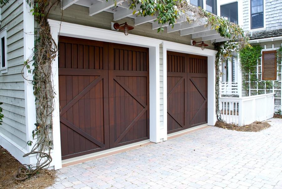Puerta de garaje seccional horizontal