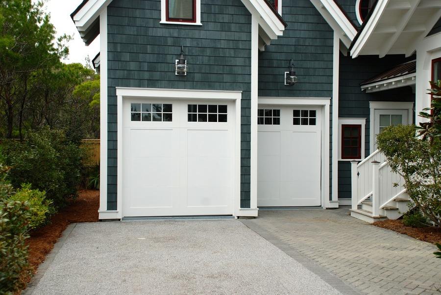Puerta de garaje seccional vertical