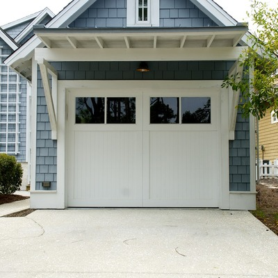 Casetas de jardín como almacén o garaje