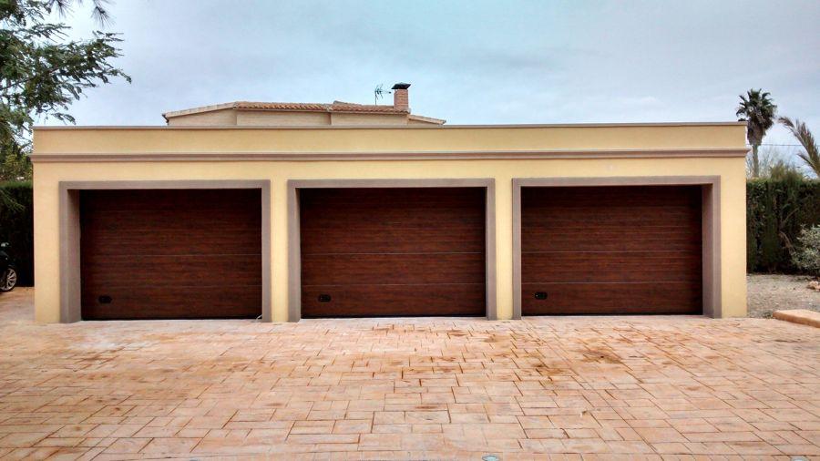 Garajes anexos a la vivienda