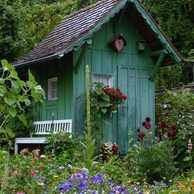 Casetas de jardín como trastero