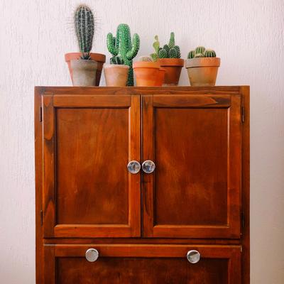 Pintar y restaurar armarios antiguos