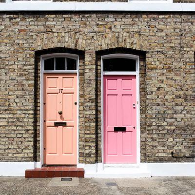 Puertas exteriores de PVC