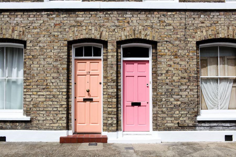Pintar o lacar puertas y muebles