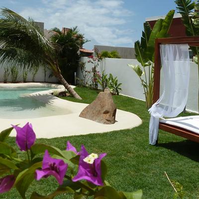 Diseños paisajistas con piscina