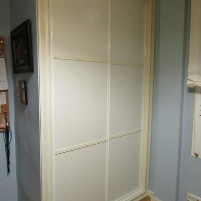 Lacar armarios de blanco