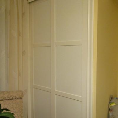 Lacar las puertas del armario