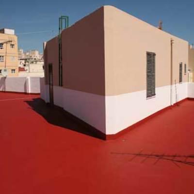 Impermeabilización de la fachada y la azotea