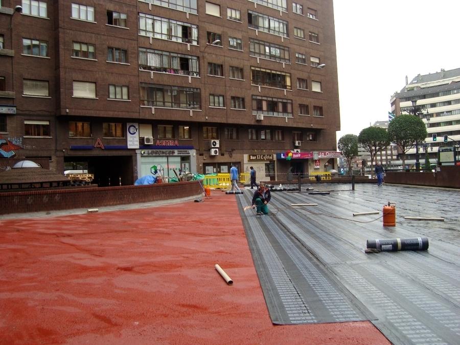 Impermeabilización de pavimentos