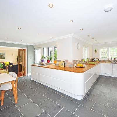 Limpiar bien el techo de la cocina