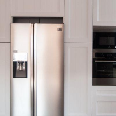 Lacar los armarios de la cocina