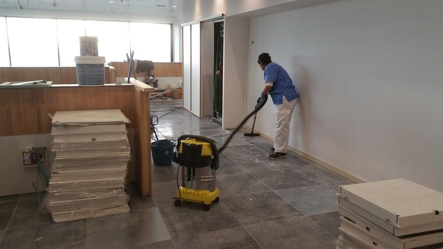 Limpiar tras una reforma u obra