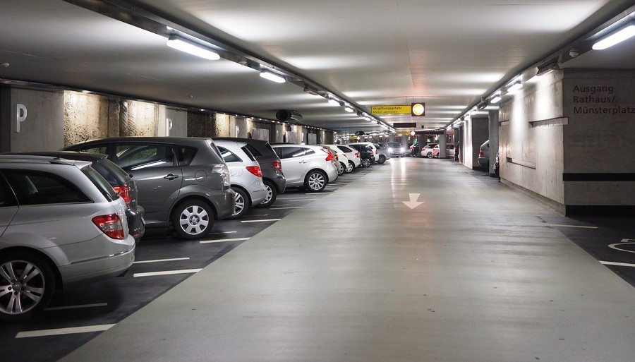 Limpieza de aparcamientos
