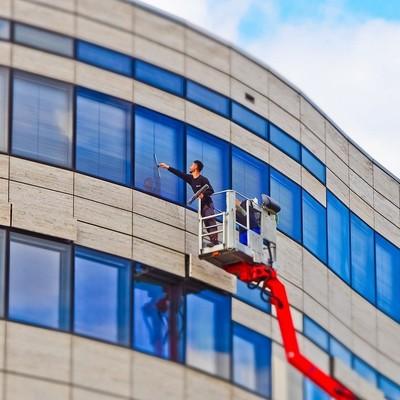 Limpieza de vidrios exteriores
