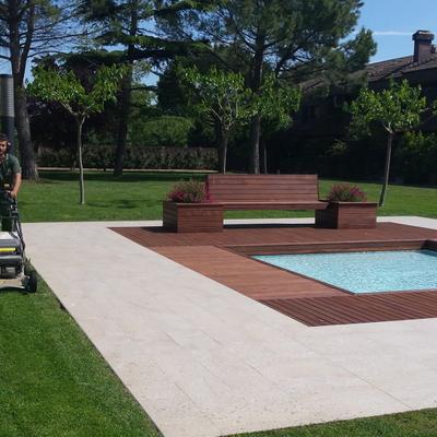Mantenimiento del jardín y la piscina