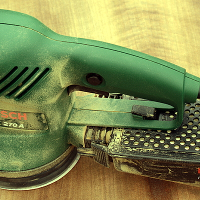 Maquinaria específica para quitar el gotelé y trabajos de