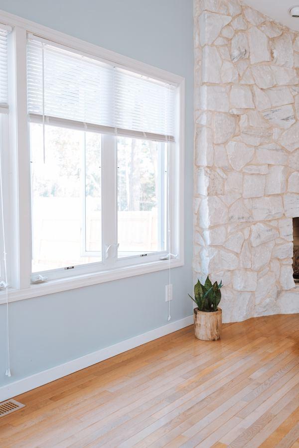 Pintar ventanas de PVC