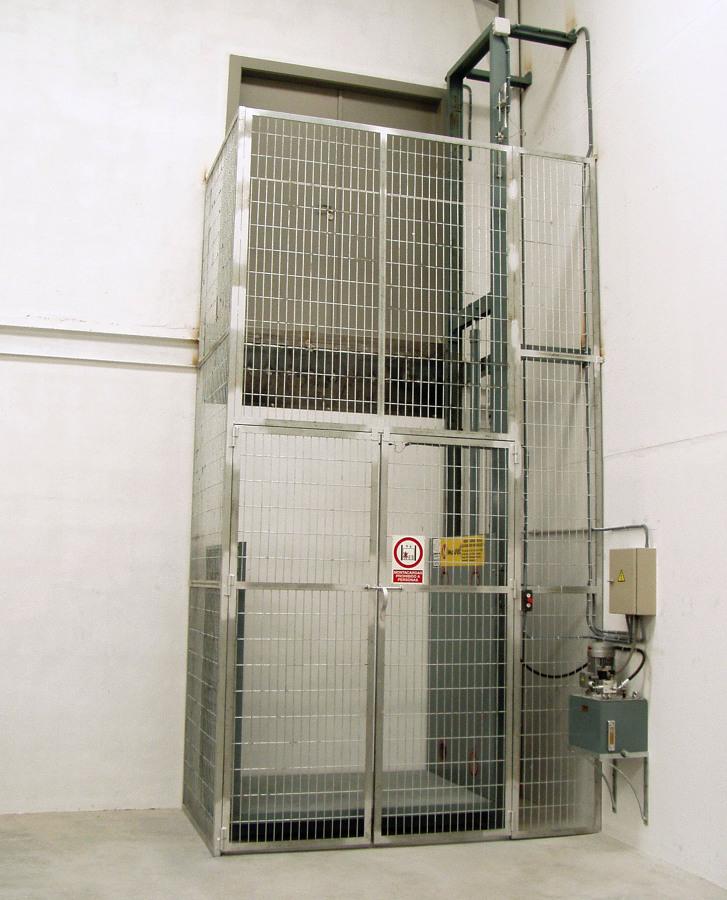 Cuanto cuesta poner un montacargas transportes de - Precio instalacion ascensor ...