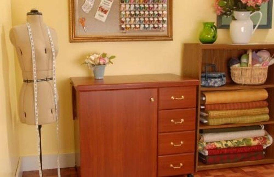 Presupuesto mueble m quina de coser online habitissimo for Mueble organizador de costura