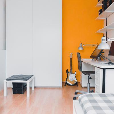 Colores en algunas paredes