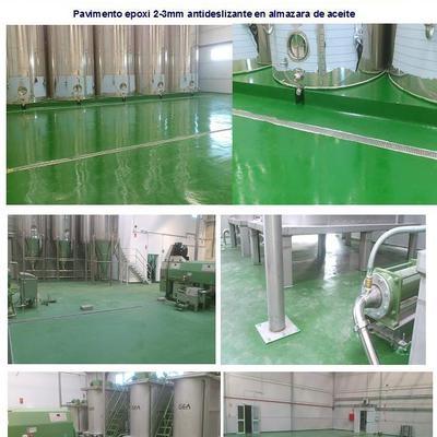 Uso industrial de los pavimentos continuos