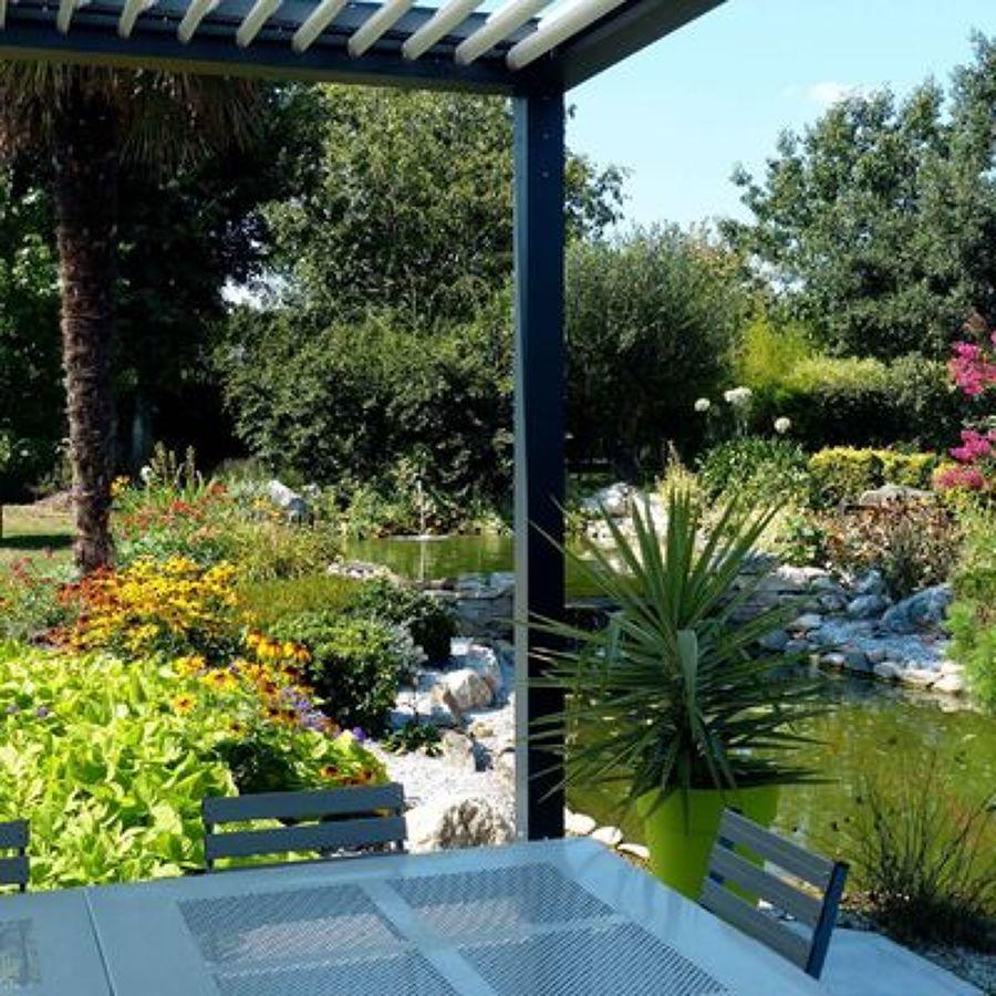prgolas de aluminio para jardines