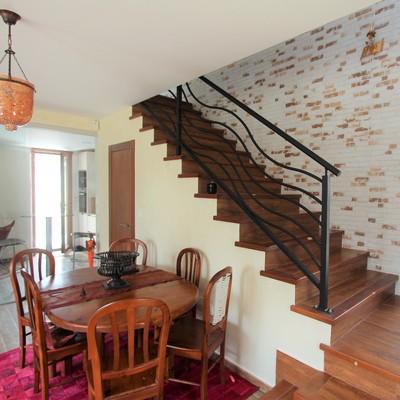 Pintar barandilla de la escalera