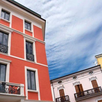 Pintar fachada de oficina
