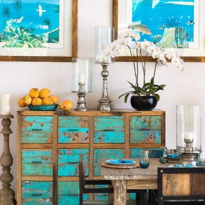 Pintar muebles del salón