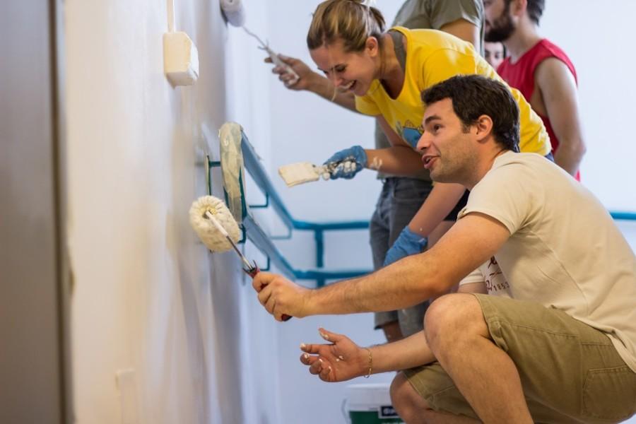 Presupuesto pintar paredes online habitissimo - Rodillos para pintar paredes lisas ...