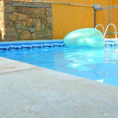 Barandillas de aluminio en piscinas