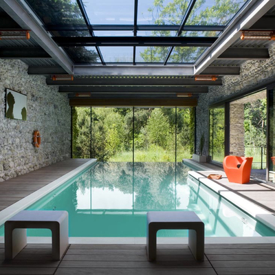 Presupuesto construir piscina obra online habitissimo for Temperatura piscina climatizada