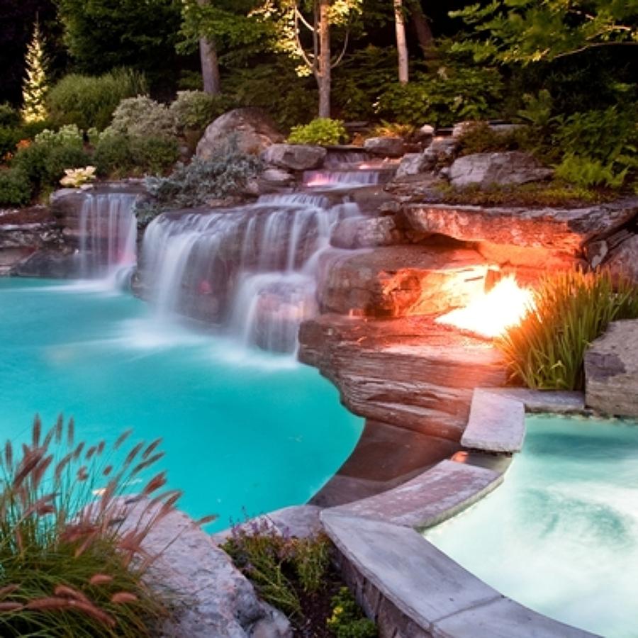 Presupuesto piscinas prefabricadas online habitissimo for Piscinas con cascadas