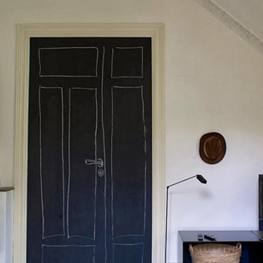 Puertas Pintadas O Lacadas. Cool Puerta Con Doble Hoja De Madera ...