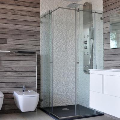Ideas y precios para cambiar el plato de ducha habitissimo for Tipos de mamparas para platos de ducha