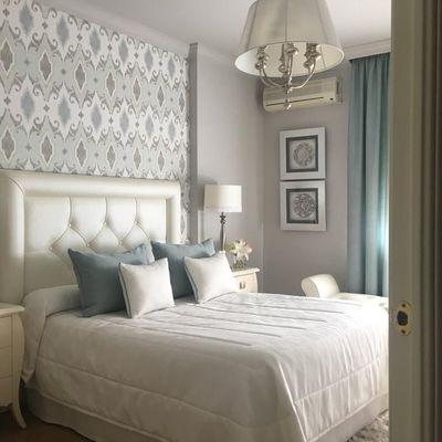 Poner papel pintado en el dormitorio