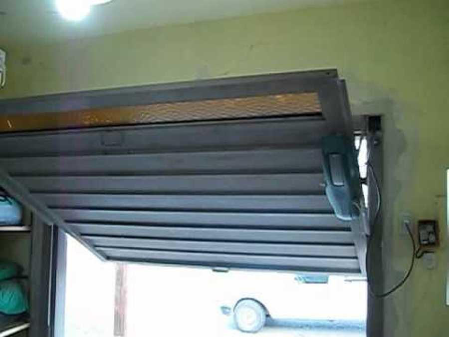 puerta basculante automtica de garaje ue