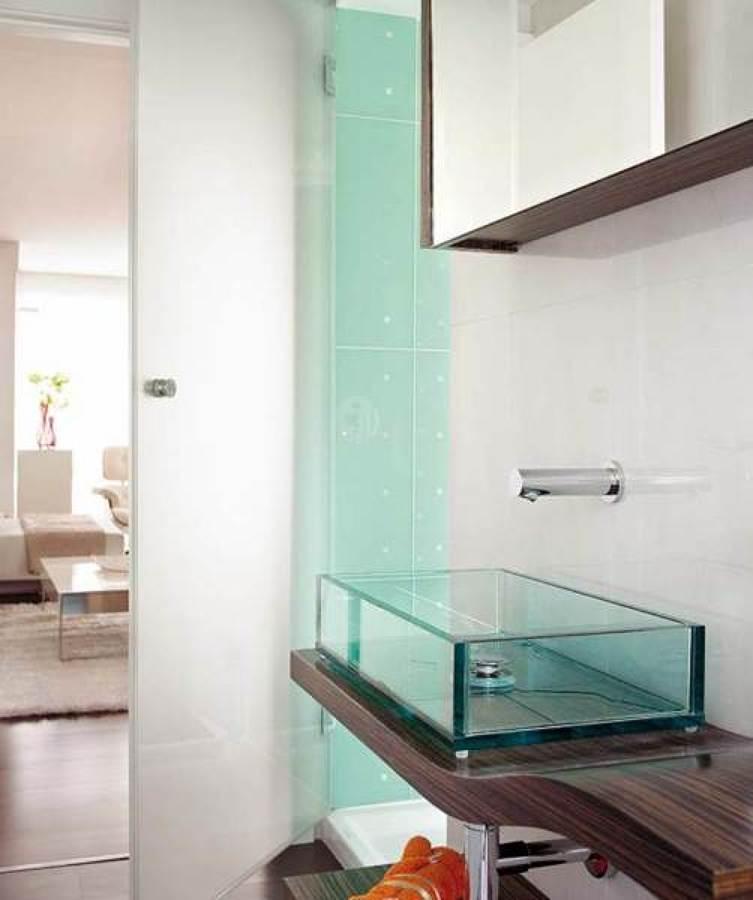 latest bao pequeo con puertas correderas with precio aproximado reforma bao with puerta corredera cristal bao - Puerta Corredera Bao