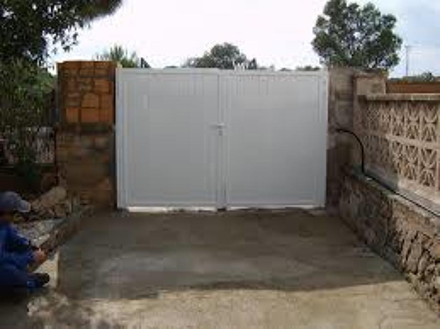 Puerta de garaje segunda mano awesome configurar para - Puertas de garaje de segunda mano ...