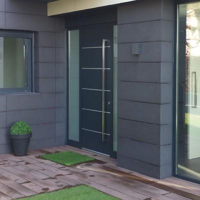 Puertas de aluminio exteriores